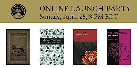 Gordon Hill Press – Spring 2021 Book Launch tickets