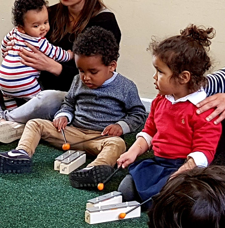 Mini Musicians Baby and Toddler Course: Summer Term image