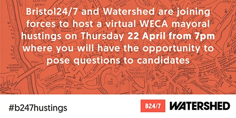 Bristol24/7 WECA mayoral hustings 2021 tickets