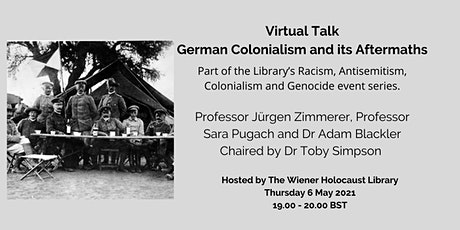 Virtual Talk: German Colonialism and its Aftermaths tickets