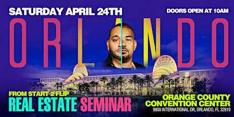 Cesar & DJ Envy's Real Estate Seminar [ORLANDO] tickets