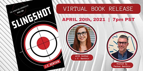 VIRTUAL BOOK LAUNCH for Slingshot with J.C. Benthin tickets