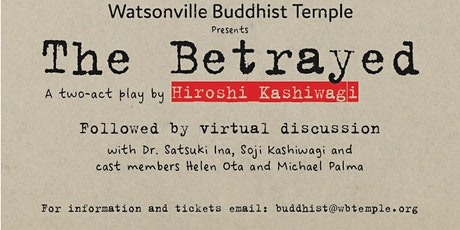 The Betrayed tickets