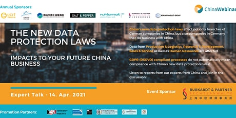 """Expert Talk """"New Data Protection Laws: Impacts to future China Business"""" tickets"""