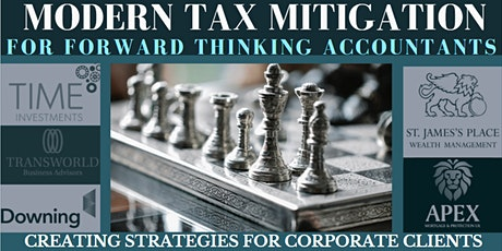 Modern Tax Mitigation for Forward Thinking Accountants tickets