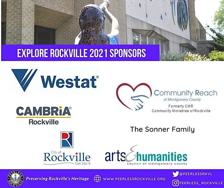 Explore Rockville 2021 ~ Socially Distanced Scavenger Hunt & Tour image