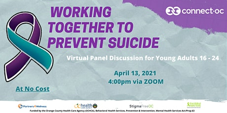 Working Together to Prevent Suicide tickets