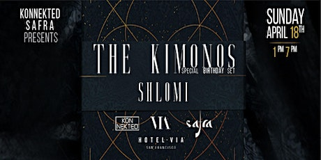 Konnekted & Safra present THE KIMONOS on the Roof tickets