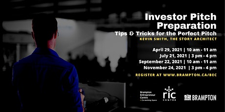 Pitching to Investors: Tips & Tricks for the Perfect Pitch tickets