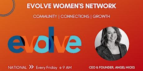 Evolve Women's Network: International (Virtual) tickets