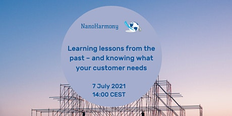 Learning lessons from the past – and knowing what your customer needs tickets