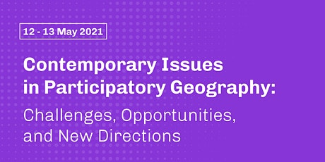 Contemporary Issues in Participatory Geography tickets