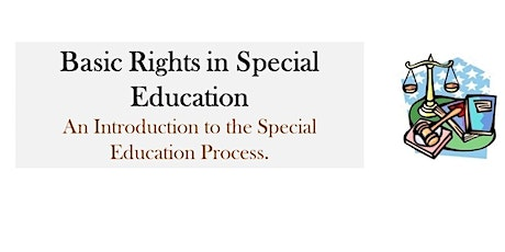 Basic Rights in Special Education tickets