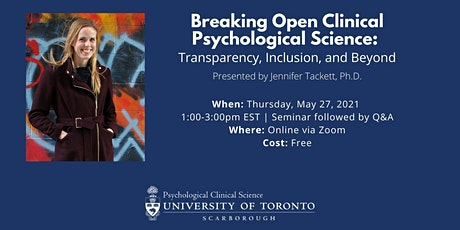 Breaking Open Clinical Psychological Science tickets