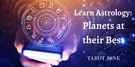 Learn Astrology: Planets at their Best tickets