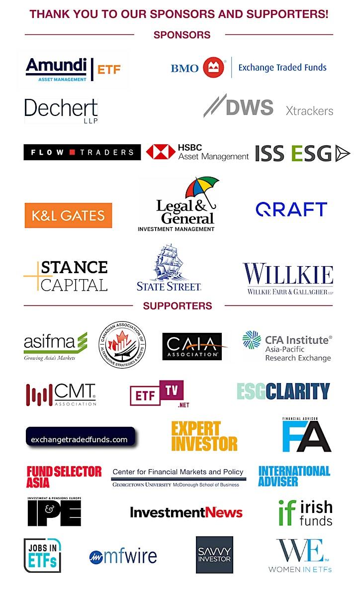 ETFGI Global ETFs Insights Summit - ESG & Active ETFs Trends image