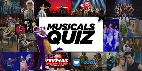 Musicals Quiz Live on Zoom tickets