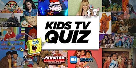 Kid's TV Quiz Live on Zoom tickets