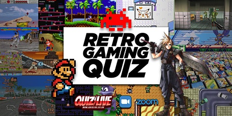 Daimo's Saturday Special: Retro Games Quiz Live on Zoom tickets