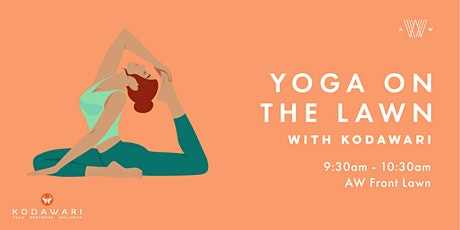 Yoga on the Lawn - April 25 tickets