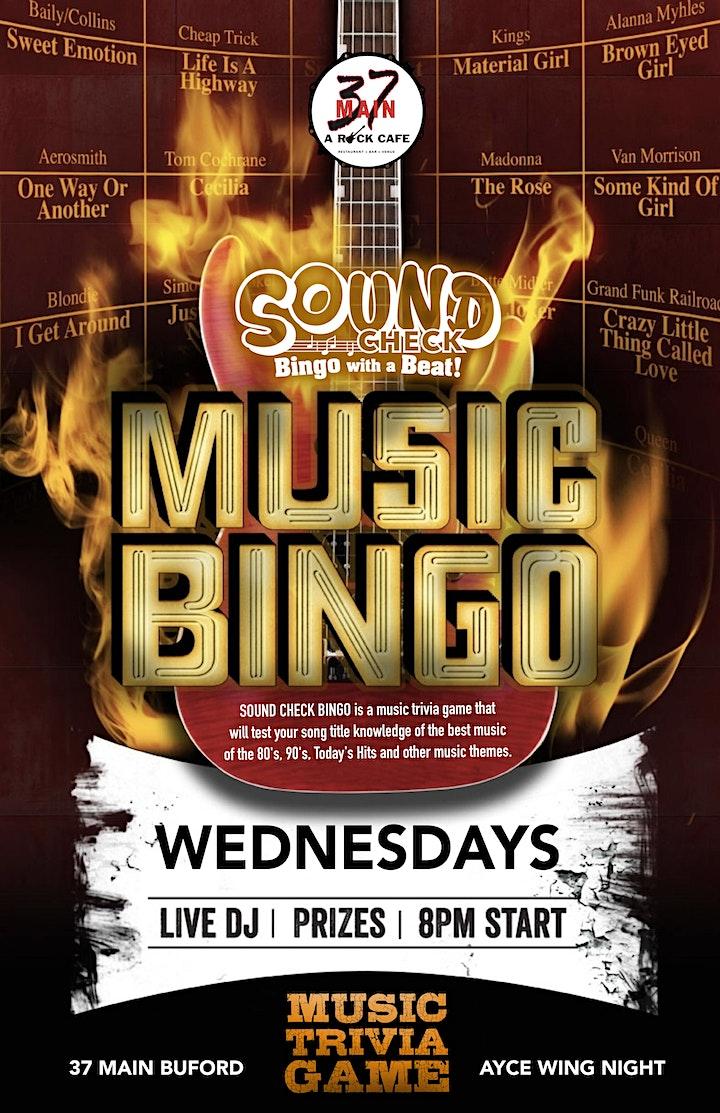 Soundcheck Bingo image