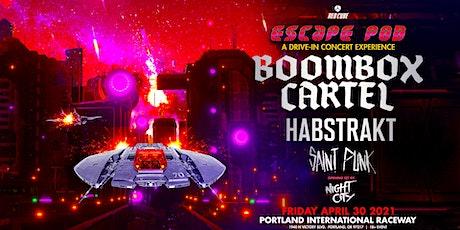 ESCAPE POD - BOOMBOX CARTEL + HABSTRAKT + SAINT PUNK