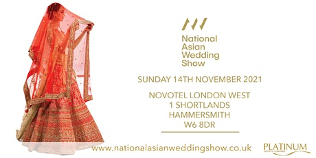 The National Asian Wedding Show London tickets