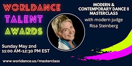 Modern & Contemporary Dance II Masterclass:  The Juilliard School tickets