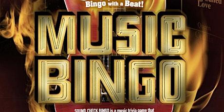 Soundcheck Bingo tickets