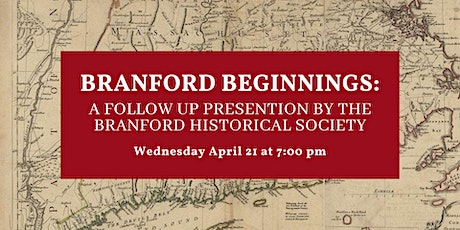Branford Beginnings: A Follow Up Q&A with the Historical Society tickets