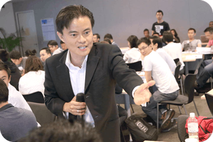 Invited Talk (Value Investing and Option Strategies) by Cayden Chang image