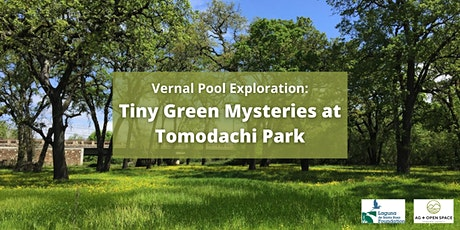 Vernal Pool Exploration: Tiny Green Mysteries at Tomodachi Park tickets