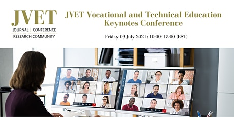 JVET Vocational and Technical Education Keynotes C tickets