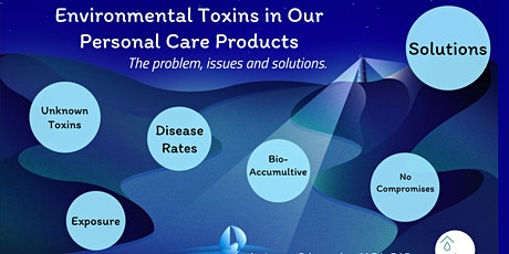 Environmental Toxins in Our Personal Care Products - Issues and Solutions tickets