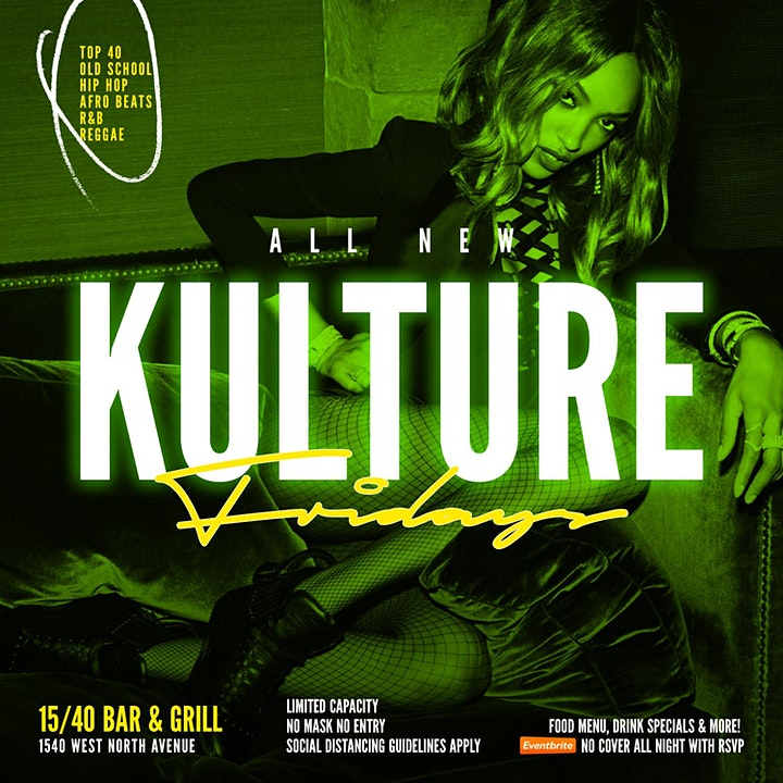 ALL NEW KULTURE FRIDAYS  (NO COVER) image