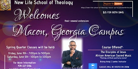 New Life School of Theology (Macon Campus) Spring Quarter tickets