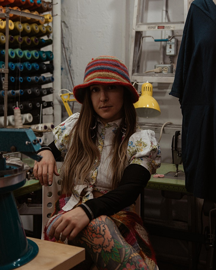 Repurposing, Mending Your Knits and Finger Knitting with Olivia Rubens image