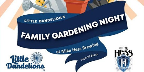 Family Gardening Night tickets