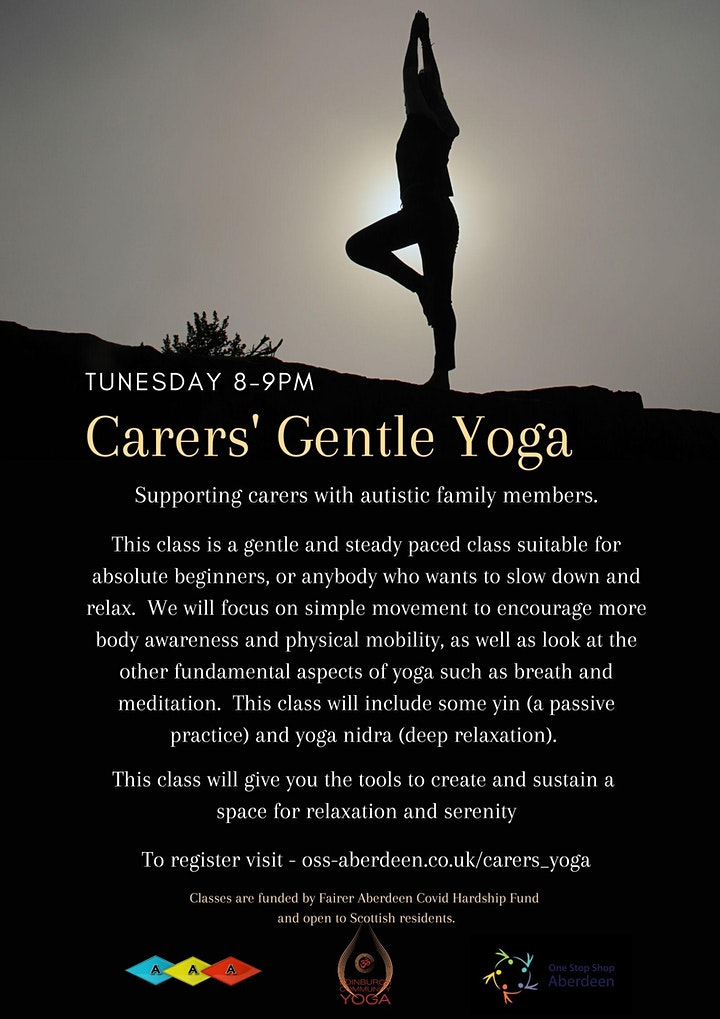 Yoga for the Autistic Community - Gentle Carers' Yoga image
