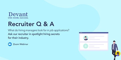 Ask an Expert: Recruiter Q and A tickets