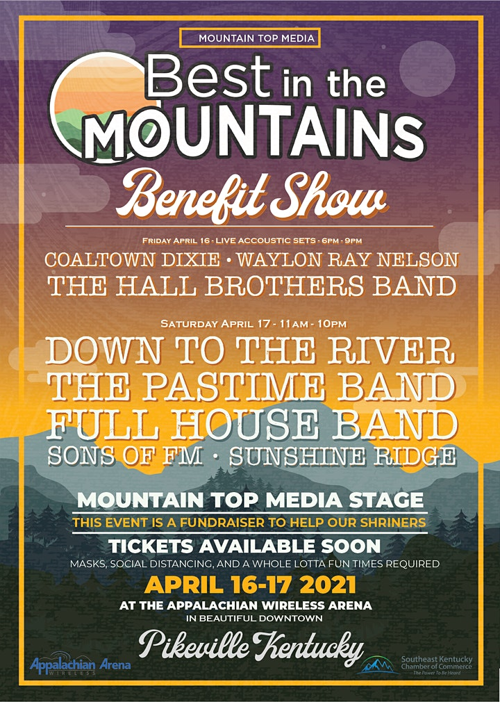 Best in the Mountains Benefit Show image
