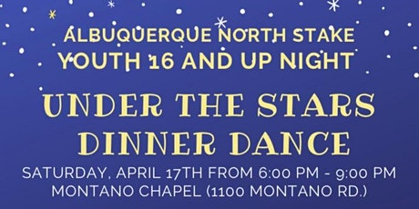 Under the Stars Dinner Dance tickets