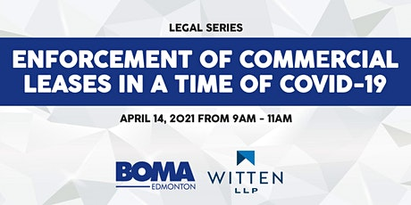 Legal Series - Enforcement of Commercial Leases in a time of COVID-19 tickets