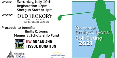 Emily C. Lyons' 7th Annual Memorial Golf Outing tickets