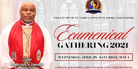 Ecumenical Gathering 2021 tickets