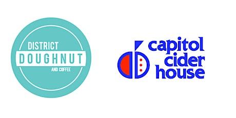 Virtual Doughnut & Cider Pairing: District Doughnut x Capitol Cider House tickets
