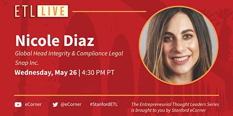 Nicole Diaz, Global Head Integrity & Compliance Legal, Snap Inc. tickets