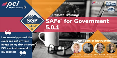 SAFe® for Government 5.0.1  - Remote tickets