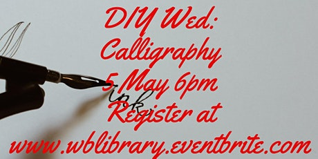Zoom Craft-Along:  Calligraphy tickets
