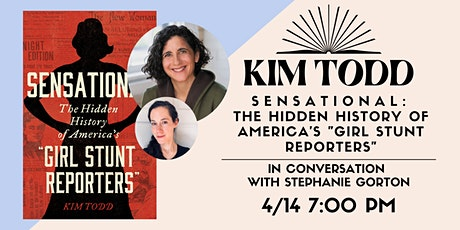 Author Talk and Q&A with Kim Todd and Stephanie Gorton! tickets